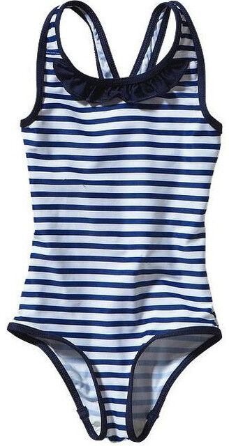 Patagonia Baby Qt Swimsuit Nautical Stripe: Channel Blå